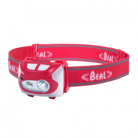 Lampe frontale rechargeable BEAL FF210R - rouge