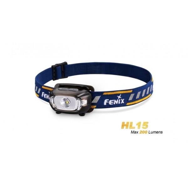 fenix hl15 - lampe frontale pour runners de 200 lumens