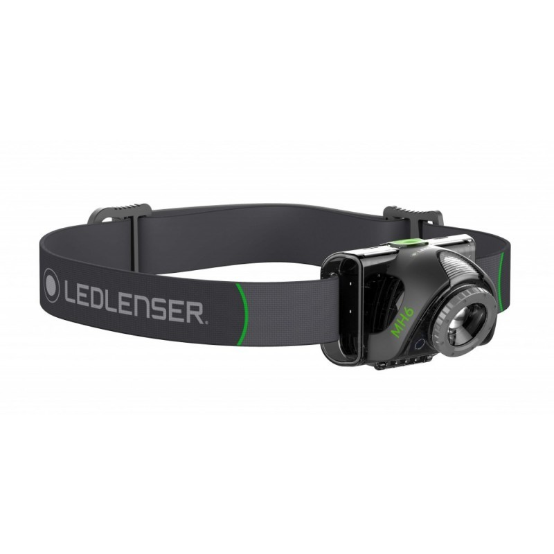 Lampe 200 Rechargeable Lumens Frontale Led Lenser Mh6 kn0wOP