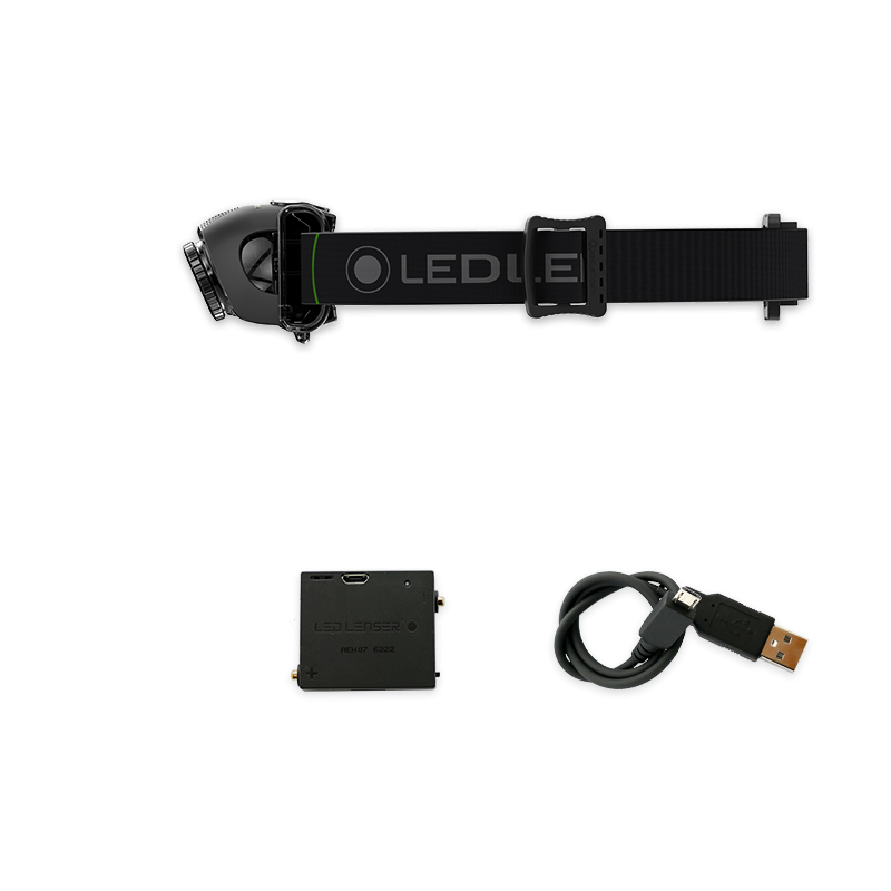 lampe frontale rechargeable led lenser mh6 200 lumens. Black Bedroom Furniture Sets. Home Design Ideas