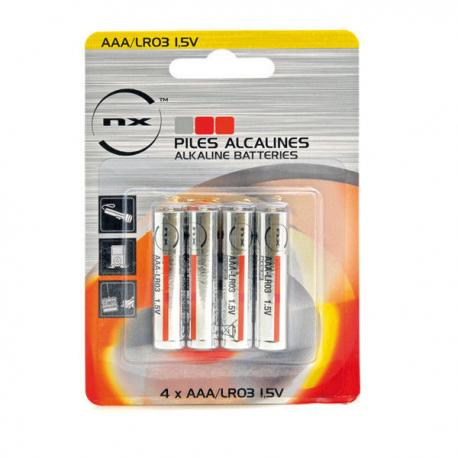 Piles AAA / LR03 1,5V alcalines