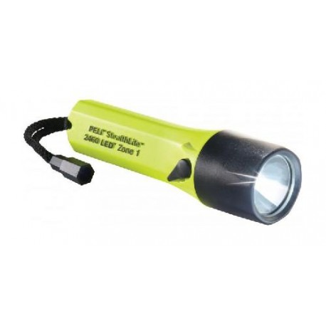Péli stealthlite rechargeable LED 2460 ATEX Zone 1