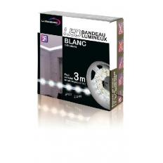 Kit complet Strip LED blanc froid 3M
