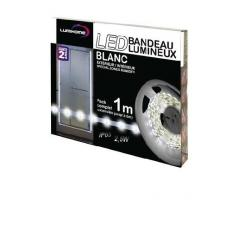 Kit complet Strip LED blanc froid 1M