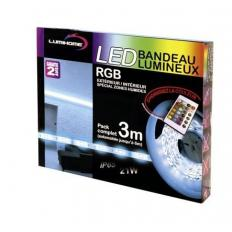 Kit complet Strip LED RGB 3M