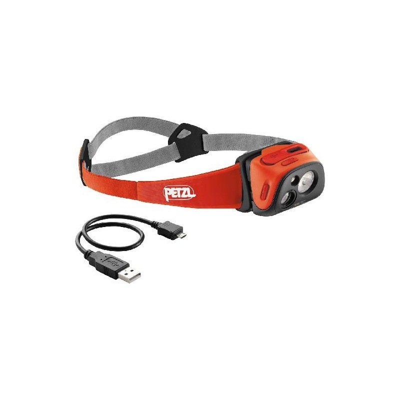lampe frontale rechargeable petzl tikka r corail e92rc. Black Bedroom Furniture Sets. Home Design Ideas