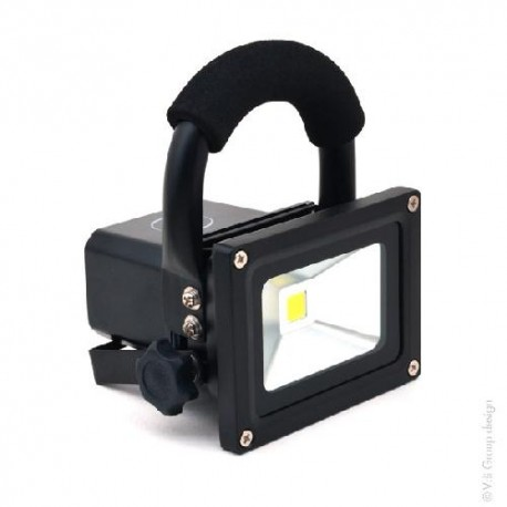 Rechargeable 10w Projecteur Projecteur Led Rechargeable wPk8OXn0