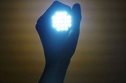 Image lampe torche puissante